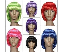 Cosplay Colored Bob Wig