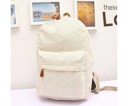 Elegant Lace Backpack