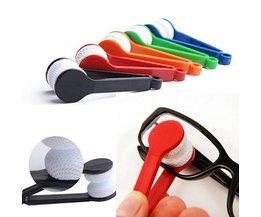 Microfiber Cloths Glasses If Brush