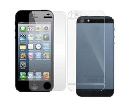 Screenprotectors Front And Back For IPhone 5
