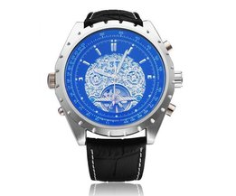 Men'S Watch With Blue Dial