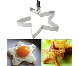 Pancakes Shape Star SS
