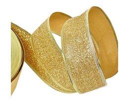 Christmas Ribbon Gold