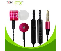 FTX Bass Earphones With Microphone JTX F801