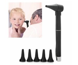 Otoscope In The Form Of A Pen