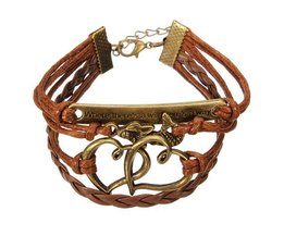 Friendship Bracelet With Multiple Layers