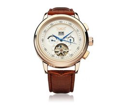 Watch With Automatic Mechanical Movement
