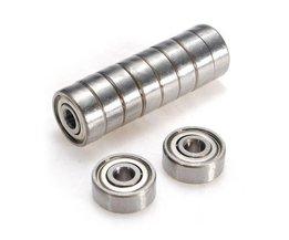 Bearings 624-ZZ 10 Pieces
