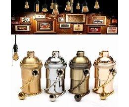 Retro Brass Vitting For A Lamp
