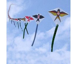 Bow Kites In The Form Of Swallows