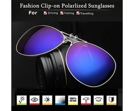 Clip On Sunglasses Polaroid In Various Colors