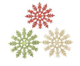 Snowflake Christmas Tree Decoration