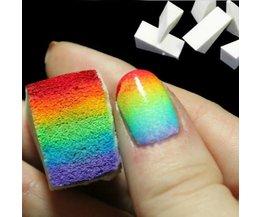 Sponge Nail For Creative Nails