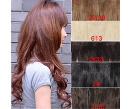 Synthetic Hair Extension In Different Colors