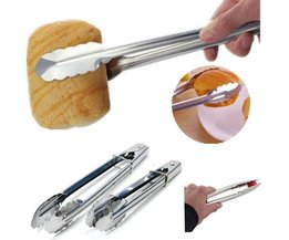 Kitchen Tongs Of Stainless Steel 3 Pieces