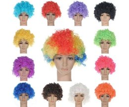 Colorful Afro Wig