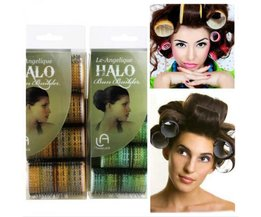 Le-Angelique Hair Rollers With Velcro