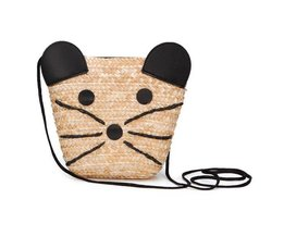 Bag Toddler Straw Mouse