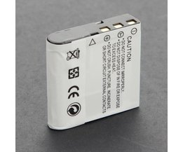 NP-40 Battery For Casio EX-Z1000 Camera