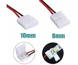 Power Connector Adapter For LED Strip 3528/5050
