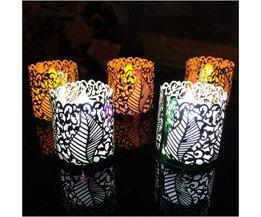 Paper Tea Light Holders 6 Pieces DIY