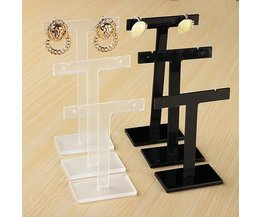 T-Shaped Standard For Jewelry 3 Pieces