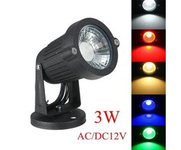 Led Outdoors With Various Colors Light