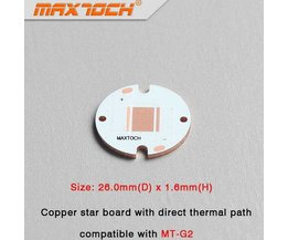 MAXTOCH Copper Flashlight Tag