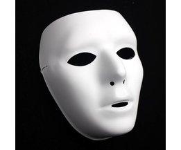 Mask White For Celebrations Like Halloween