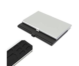 SD Card Storage Box With 9 Holders
