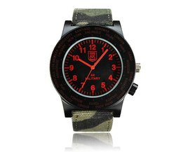 AK Watch With Canvas Band