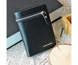 Wallet Men Horizontal And Vertical With Zipper