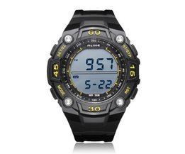 Watch In Pink, Black, Blue Or Yellow
