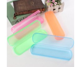 Plastic Travel Box For Toothbrushes
