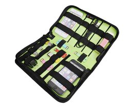 Multifunctional Storage Bag For Electronics Accessories