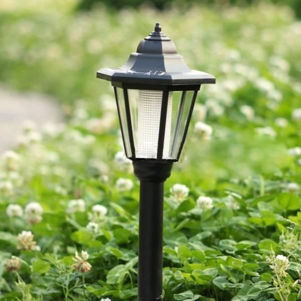 Hex LED Garden Lights