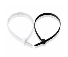 Nylon Cable Ties 100 Pieces 100-450MM In Black And White