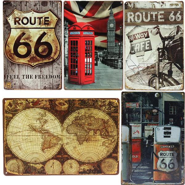 Vintage Decoration Signs For Home Or Hospitality - Buy online ...