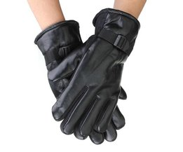 Hot Leather Motorcycle Gloves