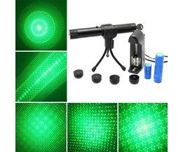 Adjustable Laser Pointer Green