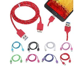 USB Charging Cable For Samsung Note 3 S5