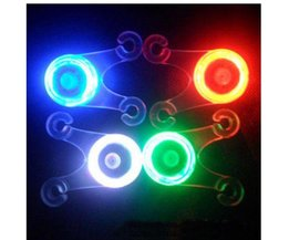 Silicone LED Bicycle Lights With Different Colors