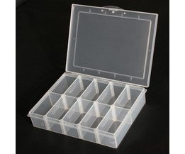 Plastic Storage Box 10 Compartments