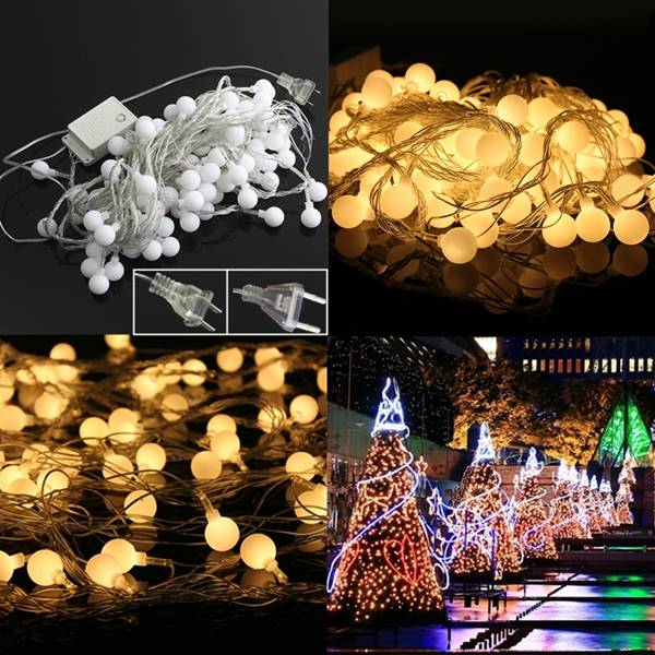 christmas lights 10 meters led