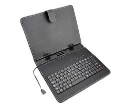 Leather Case & Keyboard For 8 Inch Tablet