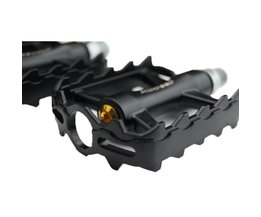 Light Metal Bicycle Pedals