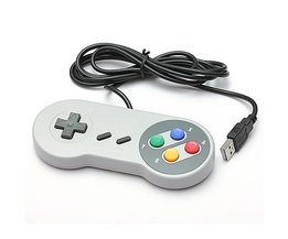 Retro SNES Controller For PC