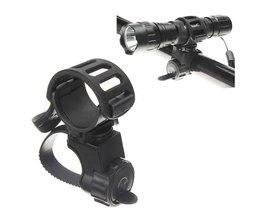 Bike Holder 360 Degrees For Flashlight