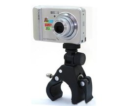 Handlebar Support For Digital Photo And Video Camera