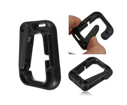 D-Shaped Plastic Carabiner